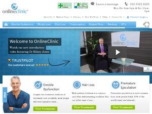 Online Clinic website