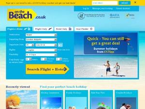 On the beach website