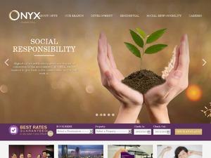 Onyx Hospitality US & CA website