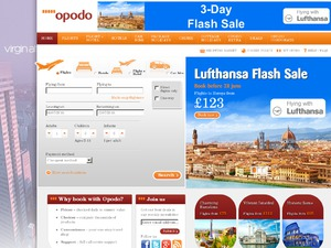 Opodo website