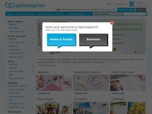 Optimalprint website