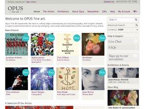 Opus Art website