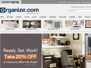 Organize.com website
