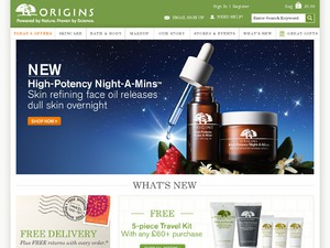 Origins website