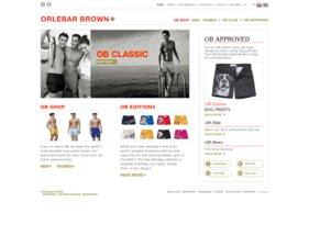 Orlebar Brown website