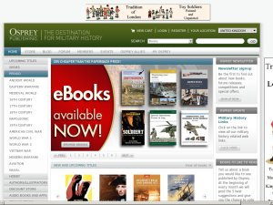 Osprey Publishing website