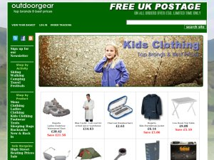 Outdoor Gear website