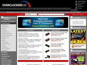 Overclockers website