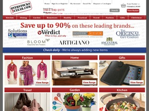 Overstocks2Clear website