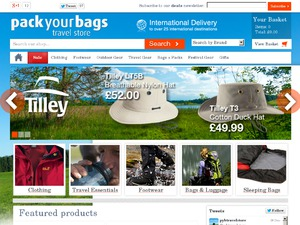 Packyourbags website