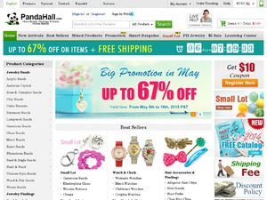 PandaHall website