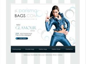Parisma Bags website