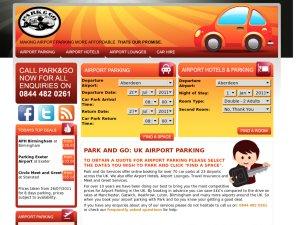 Park & Go website