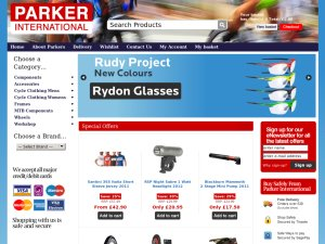 Parker International website