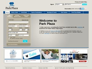 Park Plaza website