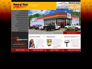 PartsPlus website