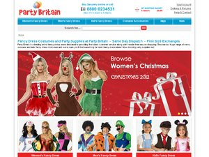 Party Britain website
