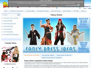 Party Domain website