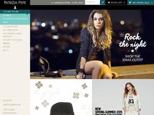 Patrizia Pepe RUS website