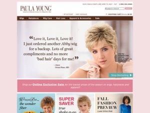 Paula Young website