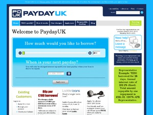 PaydayUK website