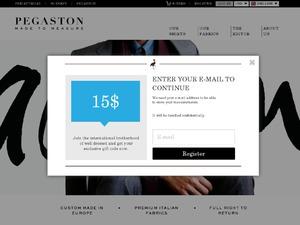 Pegaston website