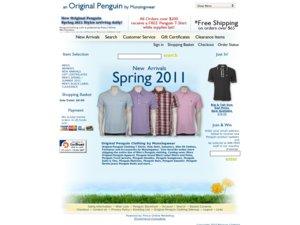PenguinClothing website