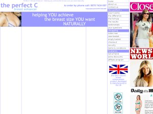 Perfect C Breast Enlargement website