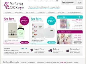 Perfume Click website
