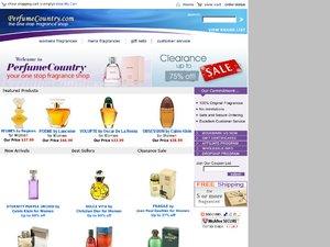 PerfumeCountry website