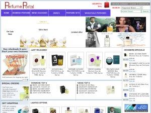 PerfumePortal website