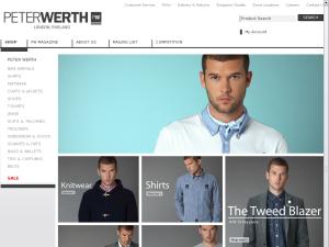 Peter Werth website