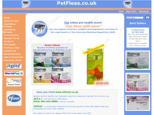 PetFleas website
