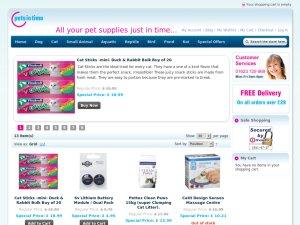 Parcel Pets pets2home website