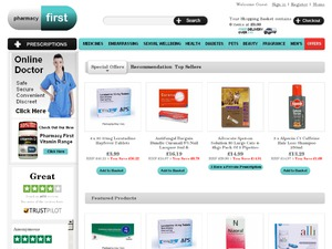 Pharmacy First website