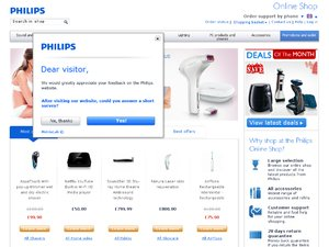 Philips website