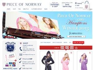 PieceOfNorwayUK website