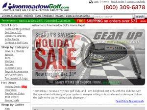 pinemeadowgolf.com website