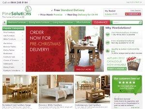 Pine Solutions website