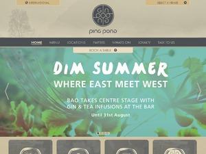 Ping Pong Dim Sum website