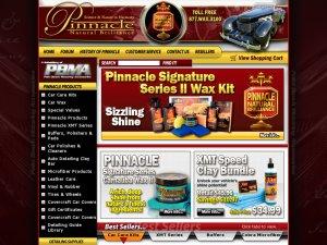 PinnacleWax website