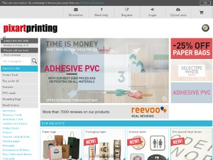 Pixartprinting website