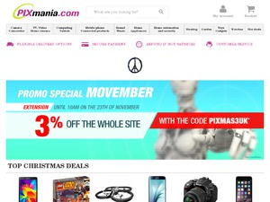 Pixmania website