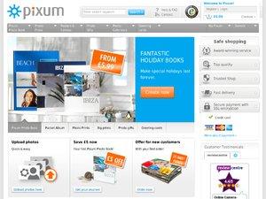 Pixum website