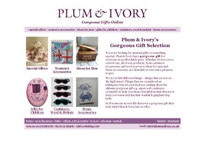 Plumandivory website