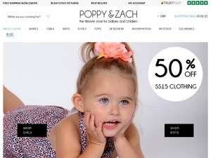 Poppy and Zach website