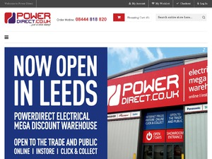 Power Direct website