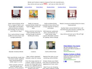 Premier Blinds website