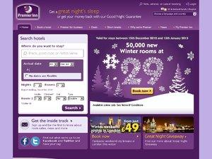 Premier Inn website