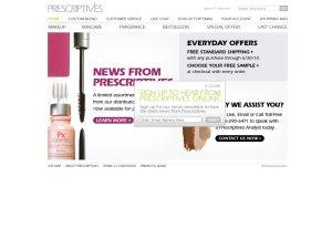 Prescriptives website